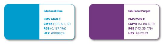 EduFocal color palette